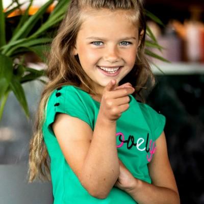 T-shirt vert B.Nosy