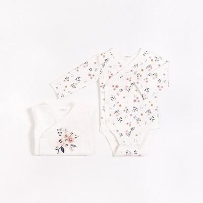Cache-couches (2) pour bébé fille Petit Lem
