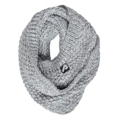 Foulard circulaire gris Perlimpinpin