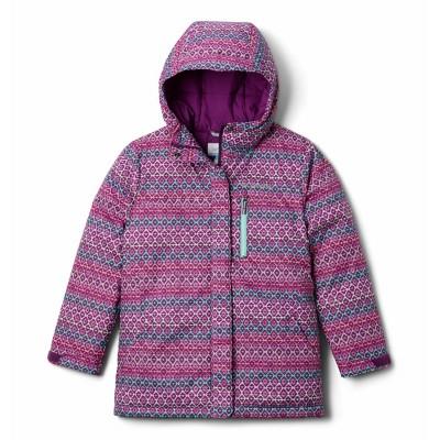 Manteau d'hiver mauve Columbia