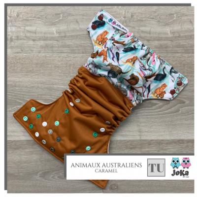 Couche lavable à poche Animaux australiens Joka 2.0