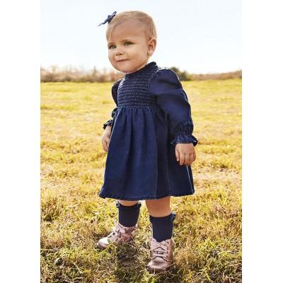 Robe en jeans souple pour bébé Mayoral