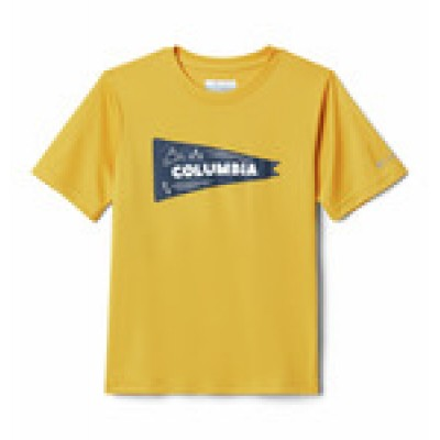 T-shirt jaune gold Columbia