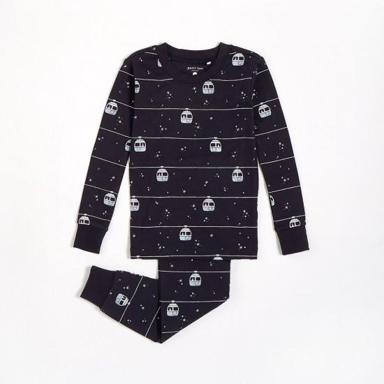 Pyjama motif télésiège Petit Lem