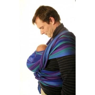 Écharpe de portage ajustable (ring sling) Iris Chimparoo