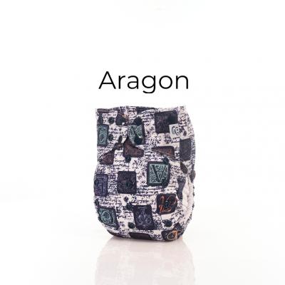 Couche lavable à poche 2.0 Aragon Mme&Co (10-38 lbs)