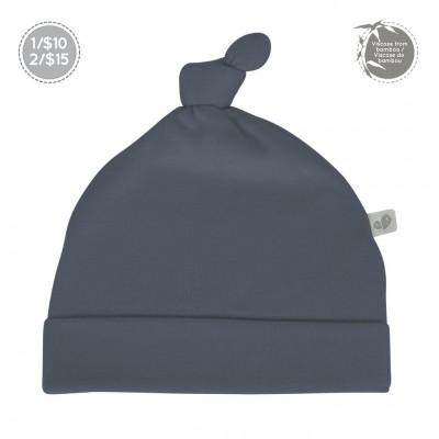 Bonnet nouveau-né 0-3 mois marine Perlimpinpin