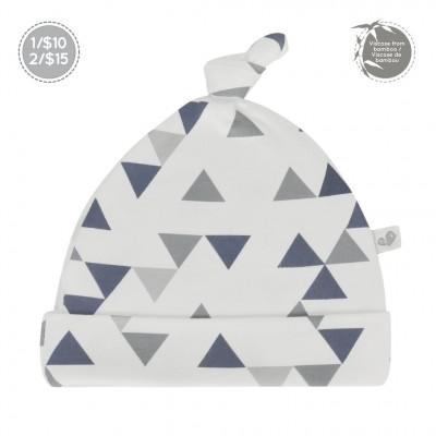 Bonnet nouveau-né 0-3 mois triangle Perlimpinpin