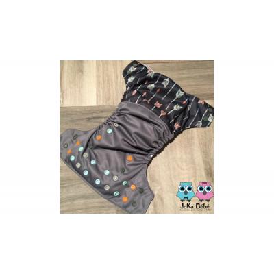 Couche lavable à poche Flèche Joka (8-35 lbs)