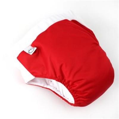 Culotte entraînement à la propreté de nuit rouge Omaïki