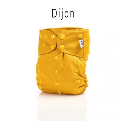 Couche lavable à poche 2.0 Dijon Mme&Co (10-35 lbs)