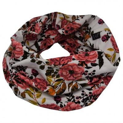 Foulard anneau fleur LP