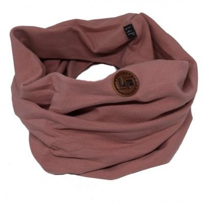 Foulard anneau rose LP