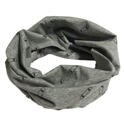 Foulard anneau gris LP