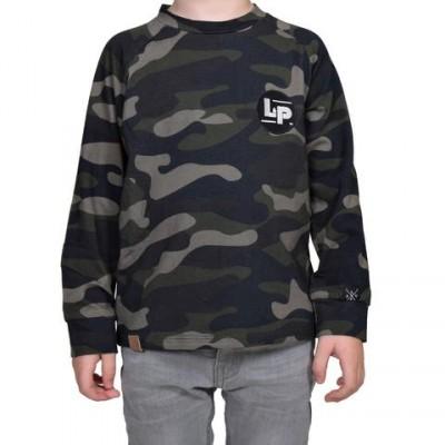 Chandail motif camouflage LP