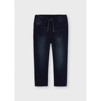 Pantalon jogger blue black Mayoral