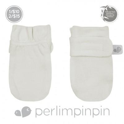 Mitaines anti-égratignures ivoire Perlimpinpin