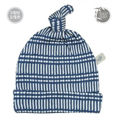 Bonnet nouveau-né 0-3 mois motif marine Perlimpinpn
