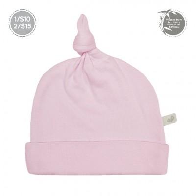 Bonnet nouveau-né  0-3 mois rose Perlimpimpinpin