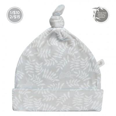 Bonnet nouveau-né 0-3 mois motif Lapins Perlimpinpin