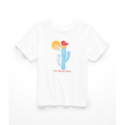 T-shirt blanc North Face