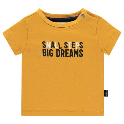 T-shirt jaune minéral Noppies