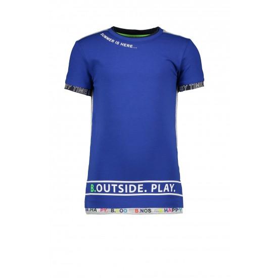 T-shirt bleu royal B.Nosy