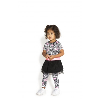 Ensemble robe flamant/legging  B.Nosy