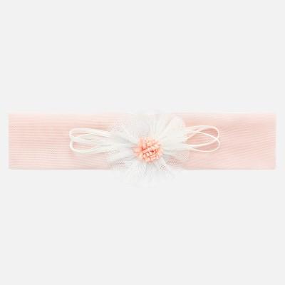 Bandeau de tête rose nouveau-né Mayoral
