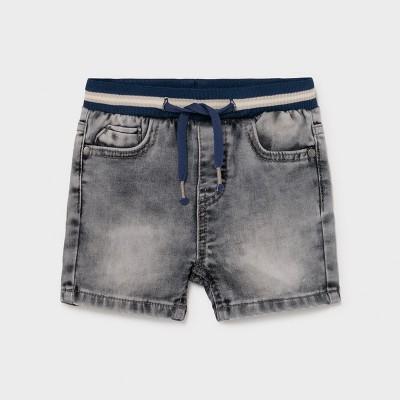 Bermuda en jeans gris pour bébé Mayoral