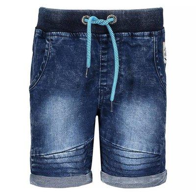 Bermuda jeans foncé bébé B.Nosy