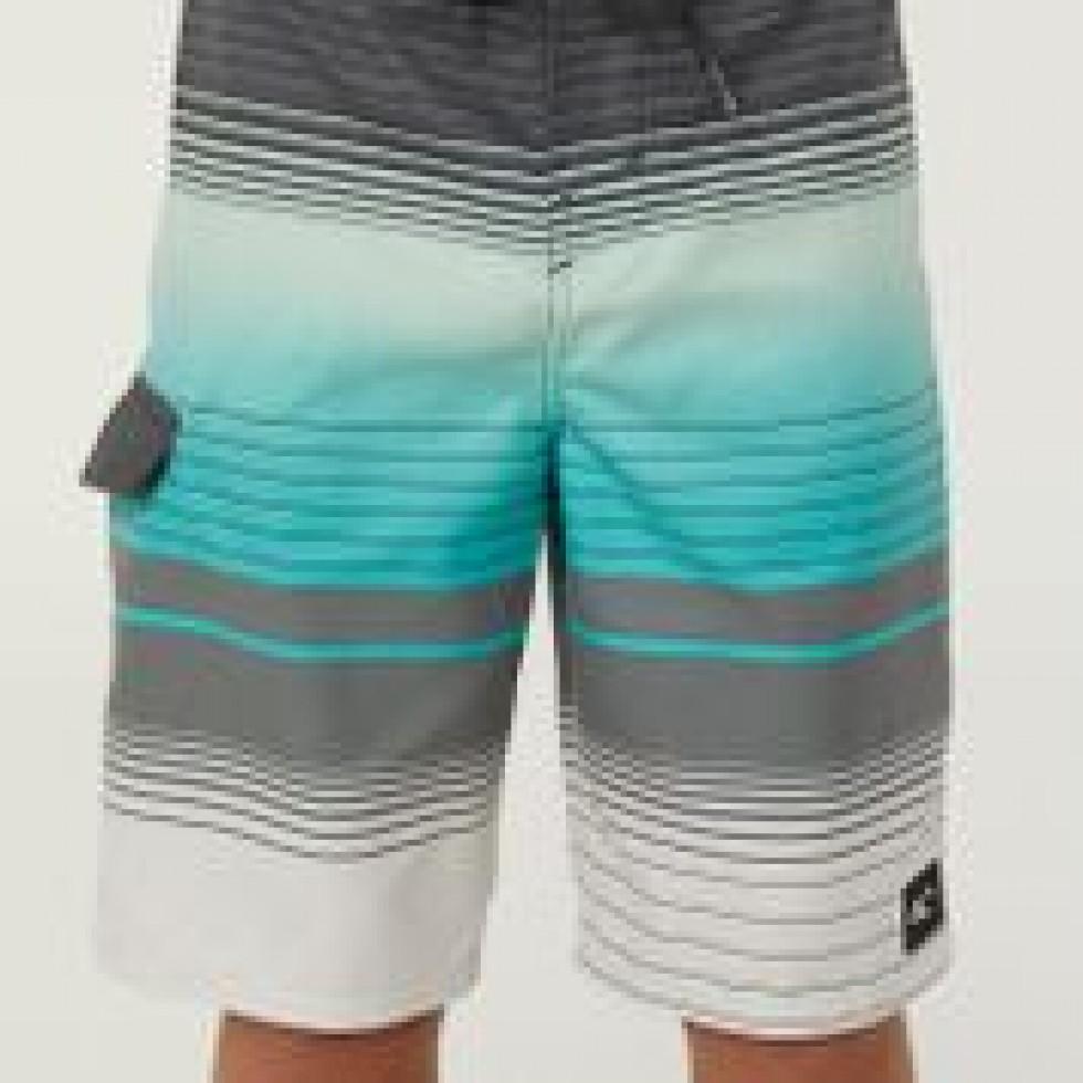 Boardshort turquoise et gris O\'Neill