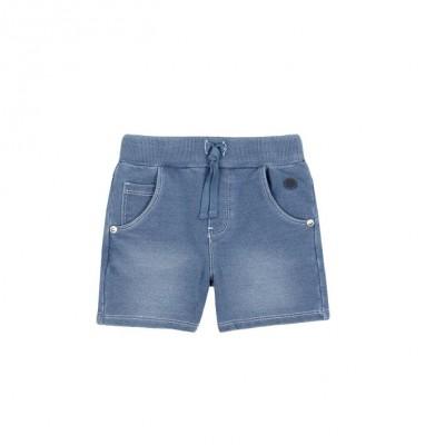 Bermuda molleton jeans bleach Boboli