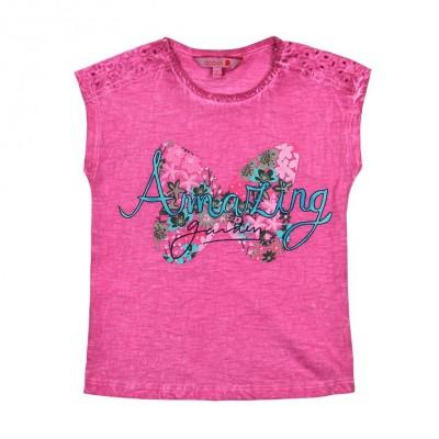 T-shirt mauve Boboli