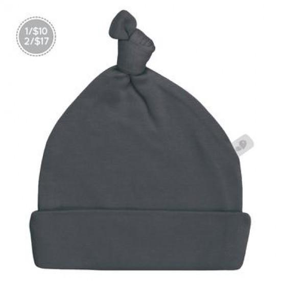 Bonnet nouveau-né 0-3 mois charcoal Perlimpinpin