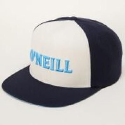 Casquette palette droite turquoise/blanche O'Neill