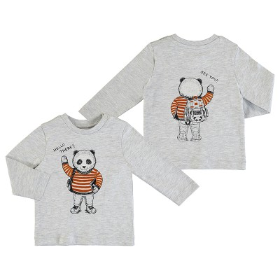 Chandail jersey gris panda Mayoral