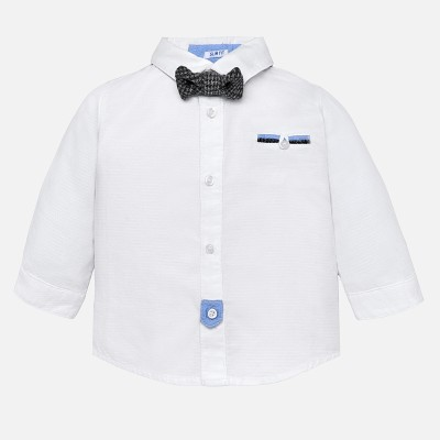 Chemise blanche noeud papillon Mayoral