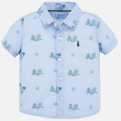 Chemise bleu ciel bébé Mayoral