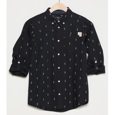 Chemise noire motif éclair Silver Jeans