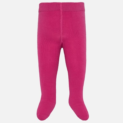 Collant bébé uni fuschia Mayoral