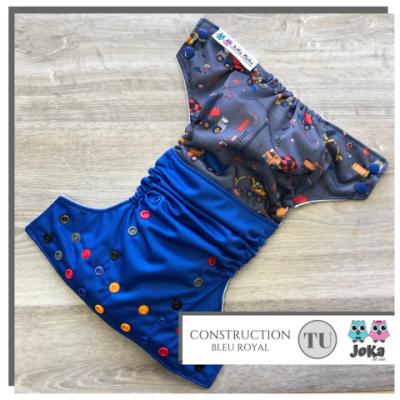 Couche lavable et de piscine à poche Construction Joka (8-35 lbs)
