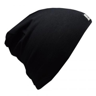 Tuque en coton noire LP (nouveau modèle)