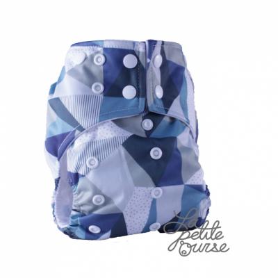 Couche lavable à poche La Petite Ourse Graphico (10-35 lbs)