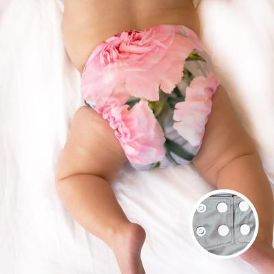 Couche lavable à poche La Petite Ourse  Bouquet (10-35 lbs)