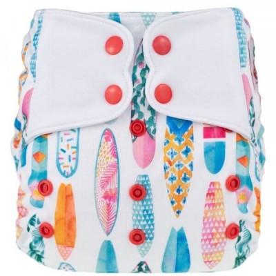 Couche lavable à poche ELF Hawai (8-38 lbs)