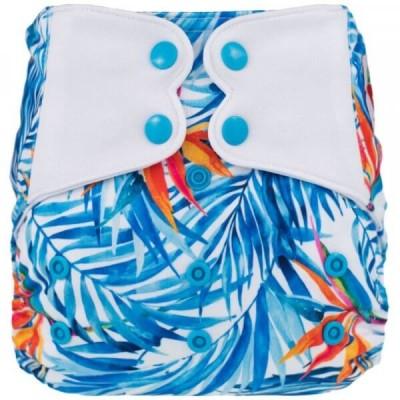 Couche lavable à poche ELF Bleu Paradise (8-38 lbs)