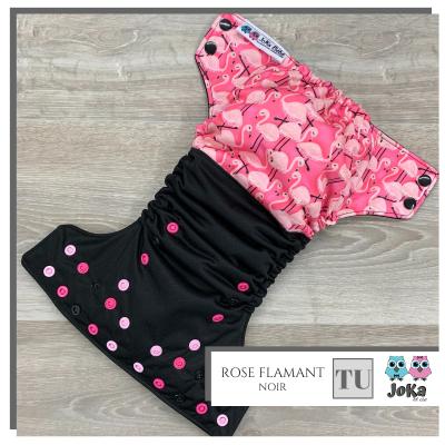 Couche lavable et de piscine à poche Rose Flamant Joka 2.0