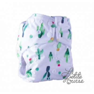 Couche lavable à poche La Petite Ourse Cactus  (10-35 lbs)