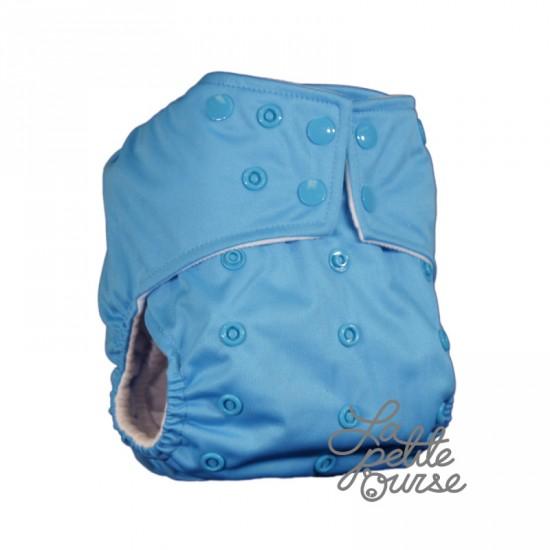 Couche lavable à poche La Petite Ourse Azur (10-35 lbs)